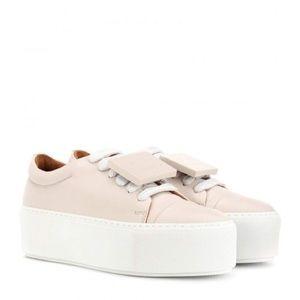 Acne Studios Drihanna Platform Sneakers Light Pink